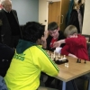 Pairs event - the Goldings in action