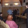 Dominic Lawson presents prize to Wahbi Kheit