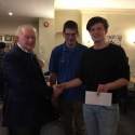 Mike and Matthew Forster - best score Father & Son 4/6