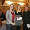 highest-placed-female-playerssophie-milliet-fra-and-cristina-adela-foisorrou-receiving-prize-from-amber-rudd-mp
